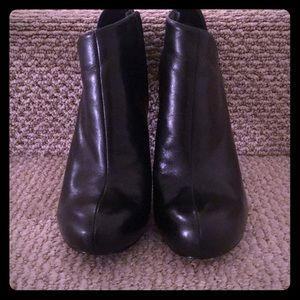 Guess by Marciano Black Leather Booties